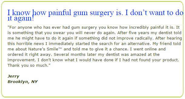 Gum Restoration Naturally